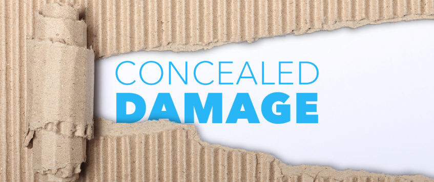 CONCEALED DAMAGE AND SHORTAGE CLAIMS