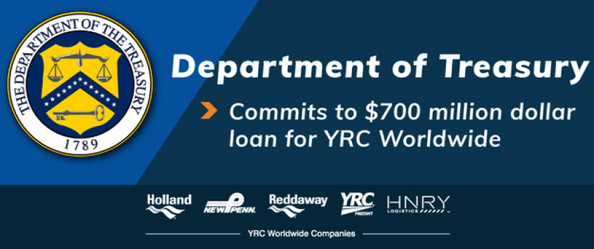YRC's government loan lifeline changes LTL landscape for rival carriers, shippers